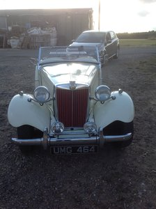 1951 MG TD for new conservatory