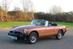 1985 MG B LE Roadster For Sale by Auction