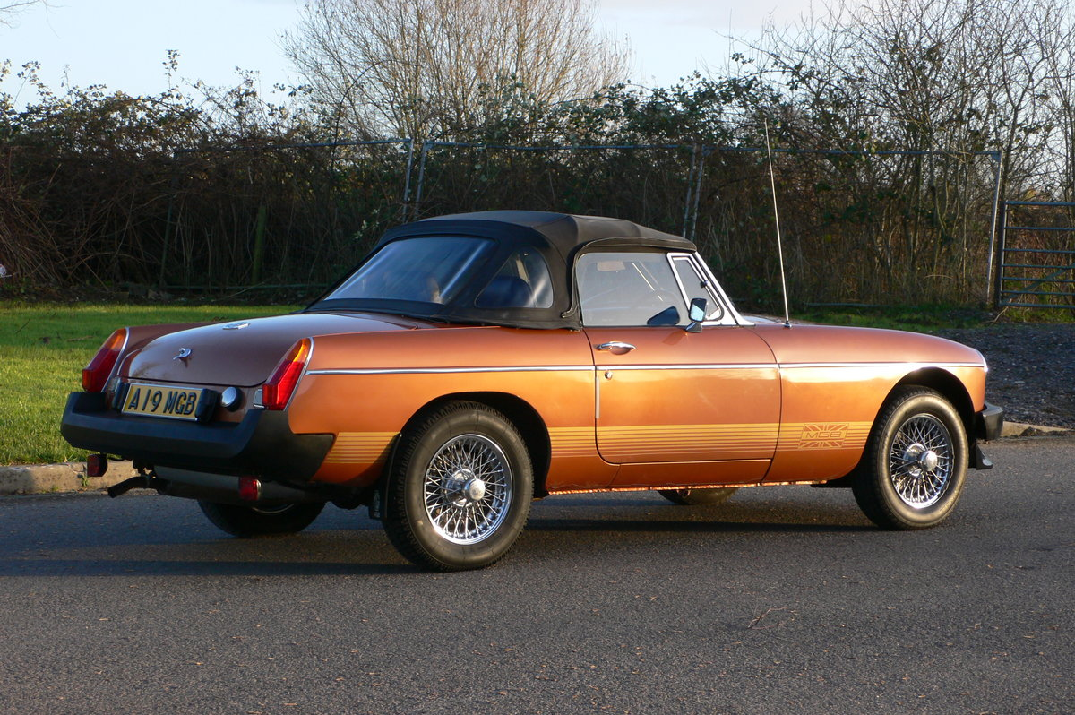 1985 MG B LE Roadster For Sale (picture 3 of 6)