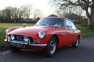 MG B GT 1971 - To be auctioned 31-01-20