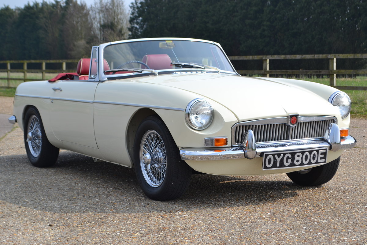 1968 MGB Roadster  For Sale (picture 1 of 6)