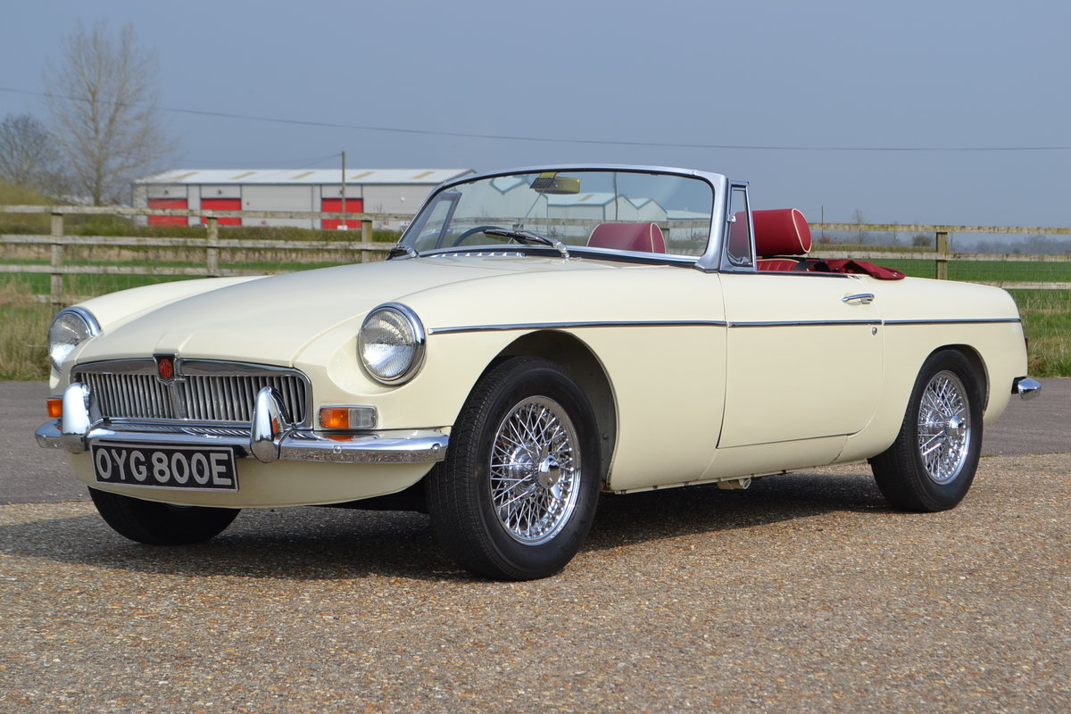 1968 MGB Roadster  For Sale (picture 2 of 6)