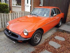 1975 MG BGT Reluctant Sale For Sale
