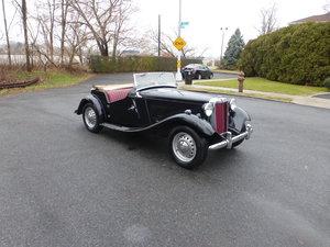 1951 MG TD Runs and Drives Need Restoration -