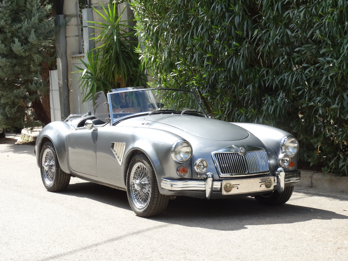 1961 MGA 1600 Roadster, 2.0 lt, widebody, Hoyle Eng. upgrade For Sale (picture 1 of 6)