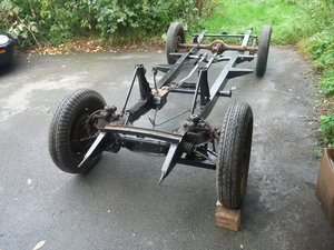 1949 MG YA XPAG rolling chassis Special project