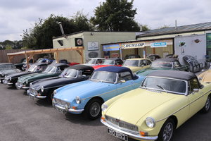 Picture of 1969 MGB ROADSTER, 14 CHROME BUMPERS IN STOCK For Sale