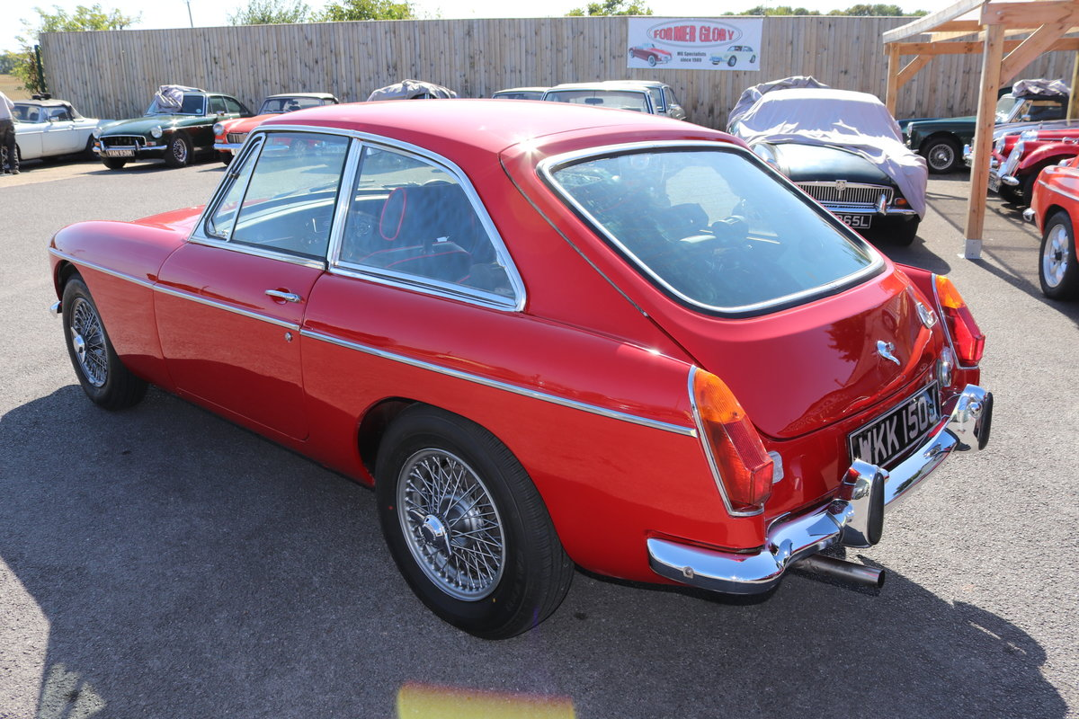1969 MGB ROADSTER, 14 CHROME BUMPERS IN STOCK For Sale (picture 4 of 6)