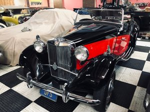 1952 MG TD Owned by Candice Bergan Beautiful Vehicle