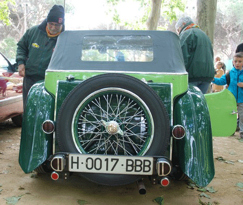 1939 Magníficent MG TA For Sale (picture 2 of 6)