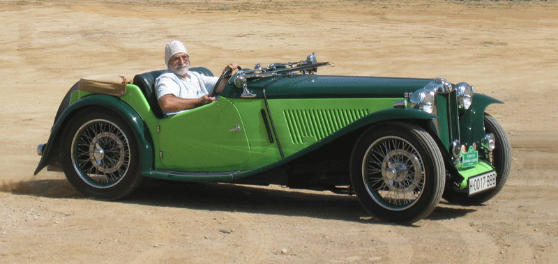 1939 Magníficent MG TA For Sale (picture 5 of 6)