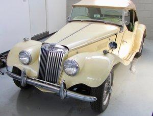 1954 MG TF 1250 Total Restored