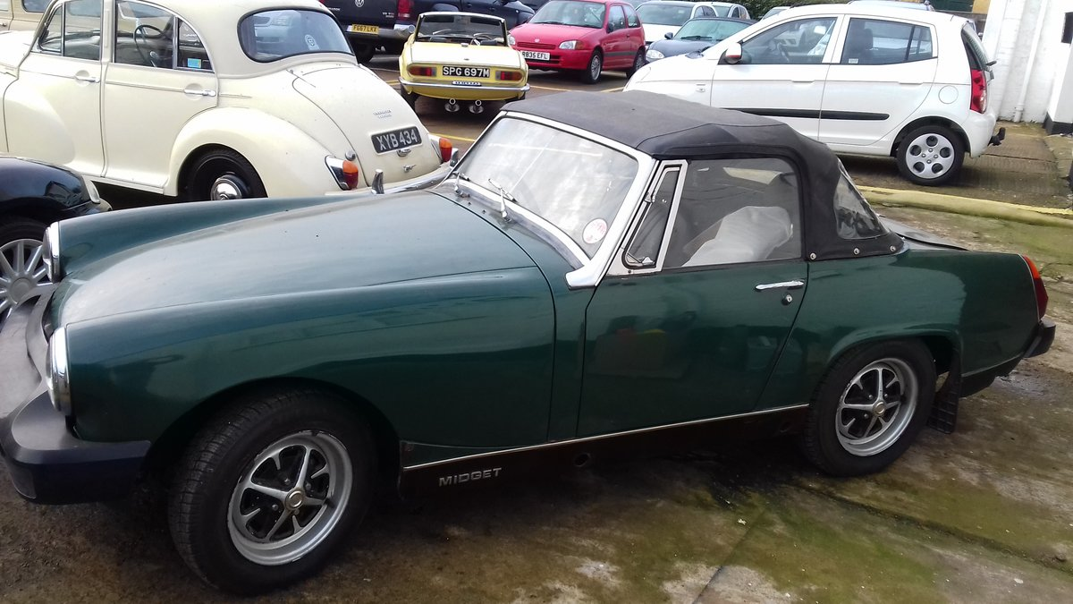 1978 MG MIDGET ~ BARN FIND TO CLEAR  BARGAIN PROJECT! SOLD (picture 1 of 6)
