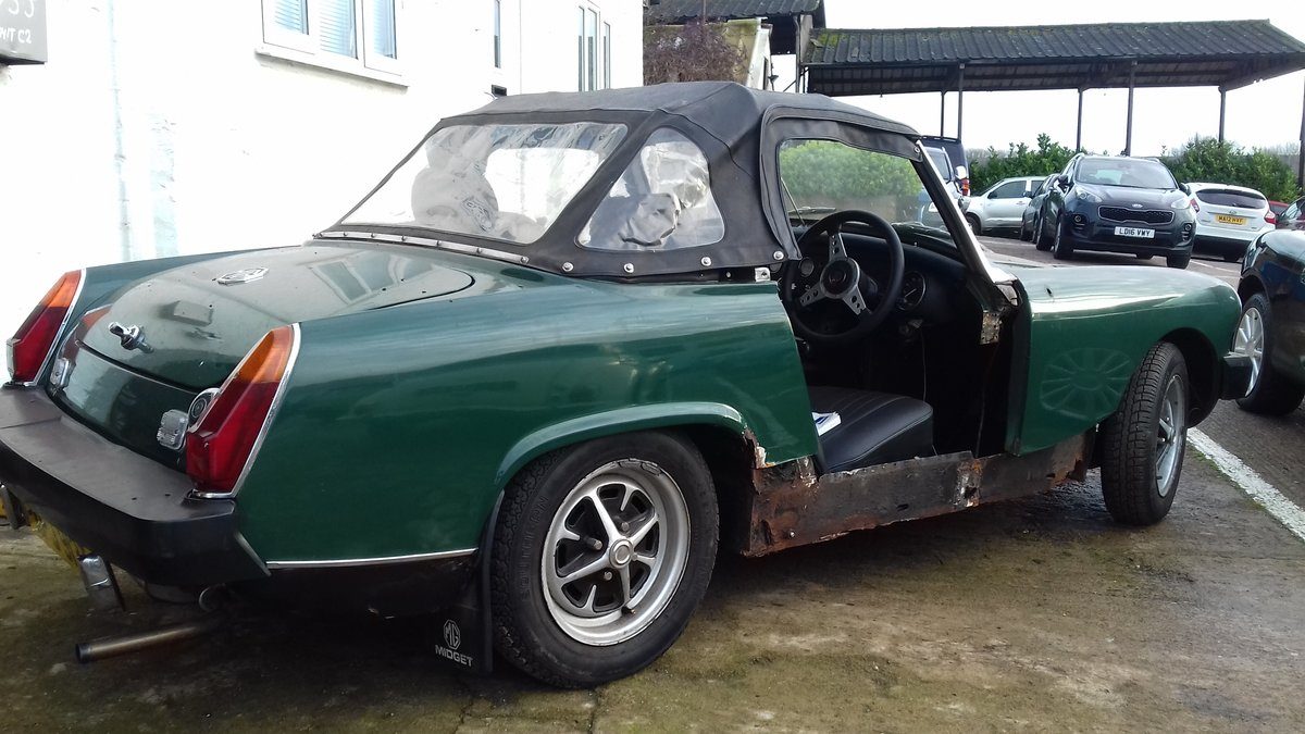 1978 MG MIDGET ~ BARN FIND TO CLEAR  BARGAIN PROJECT! SOLD (picture 2 of 6)