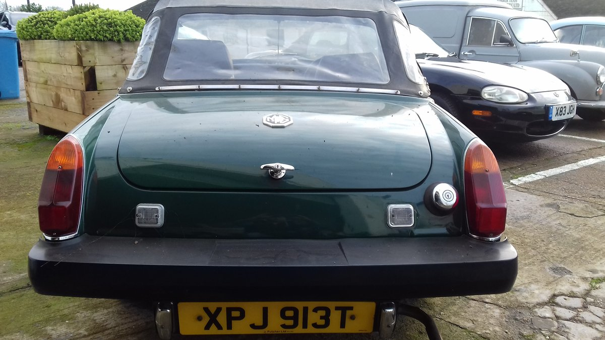 1978 MG MIDGET ~ BARN FIND TO CLEAR  BARGAIN PROJECT! SOLD (picture 5 of 6)