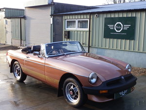 1981 MGB Roadster Limited Edition, fully restored with 65k