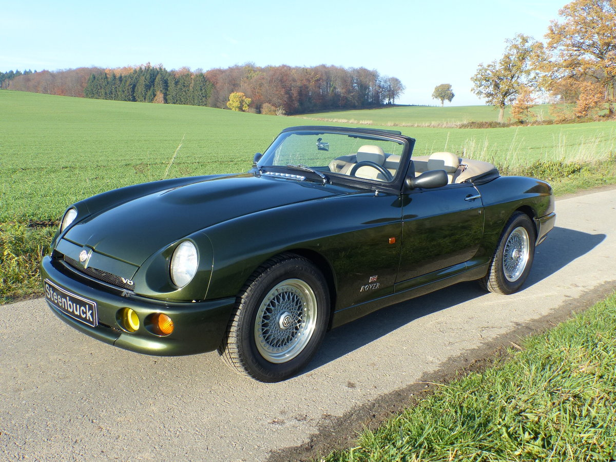 1995 MG RV8 - One of only 15 LHD For Sale (picture 1 of 6)