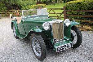 1946 Superb MGTC