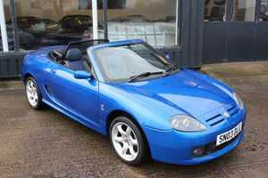 2003 MGTF COOL BLUE,FSH,HEADGASKET,BELT&PUMP,1YR WARRANTY For Sale