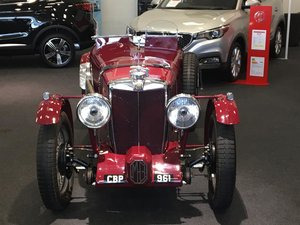1936 Fully Restored MG TA Pointed Tale Special