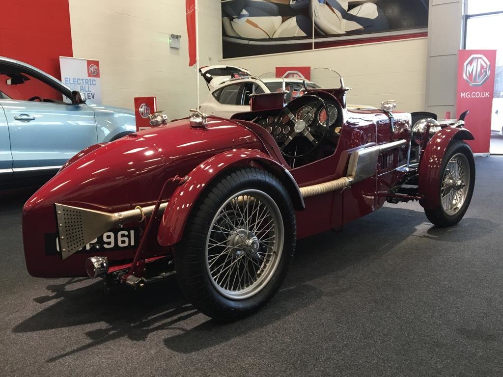 1936 Fully Restored MG TA Pointed Tale Special For Sale (picture 3 of 6)