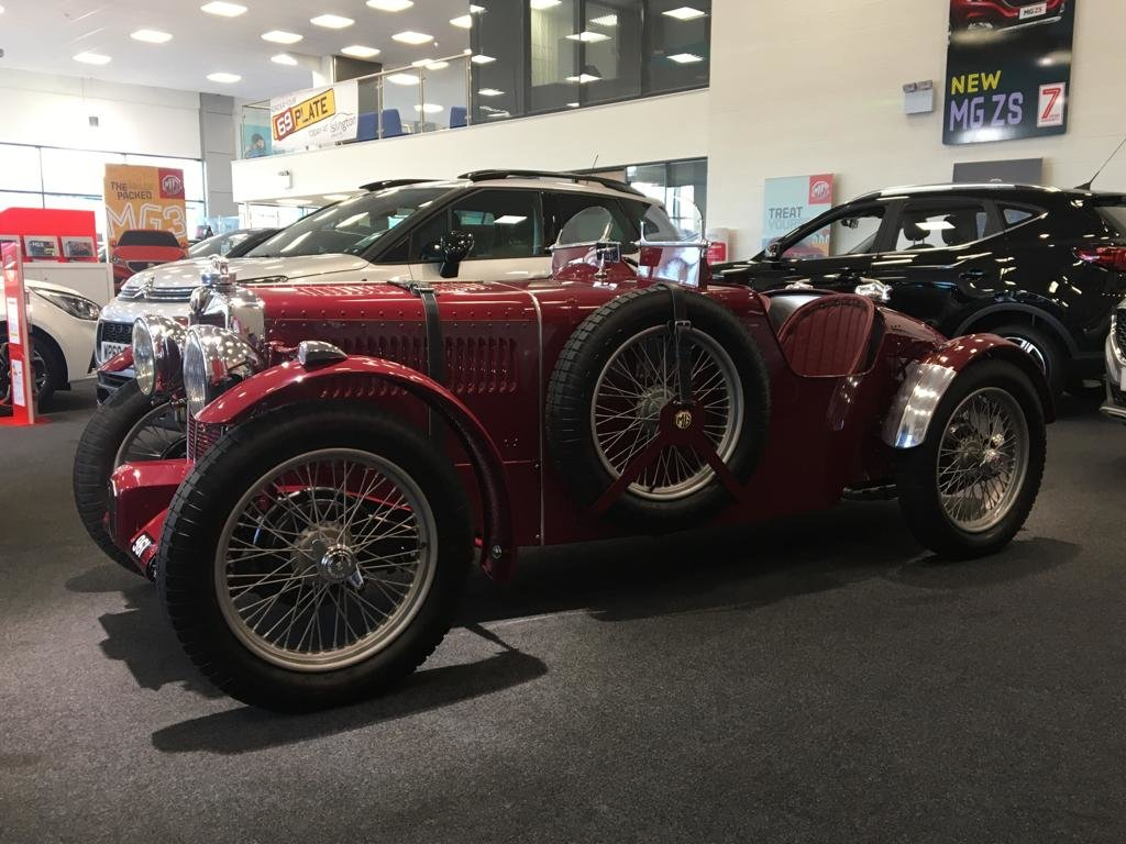 1936 Fully Restored MG TA Pointed Tale Special For Sale (picture 4 of 6)