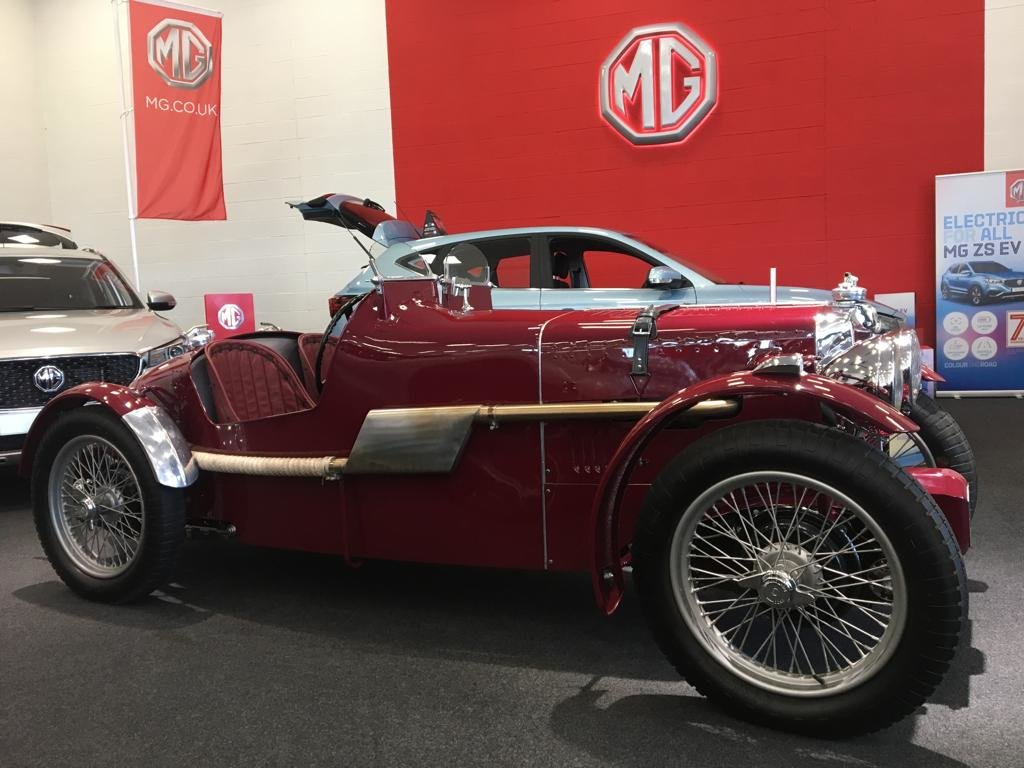 1936 Fully Restored MG TA Pointed Tale Special For Sale (picture 5 of 6)
