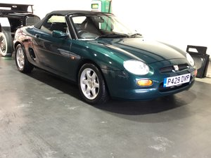 1996 MGF  2 owners from new.   Amazing original condition. For Sale