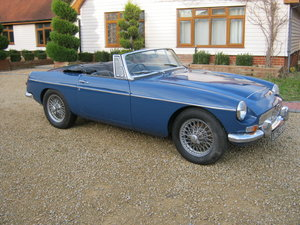 1969 MGC ROADSTER. RECENTLY RESTORED. OSELLI ENGINE MINERAL For Sale