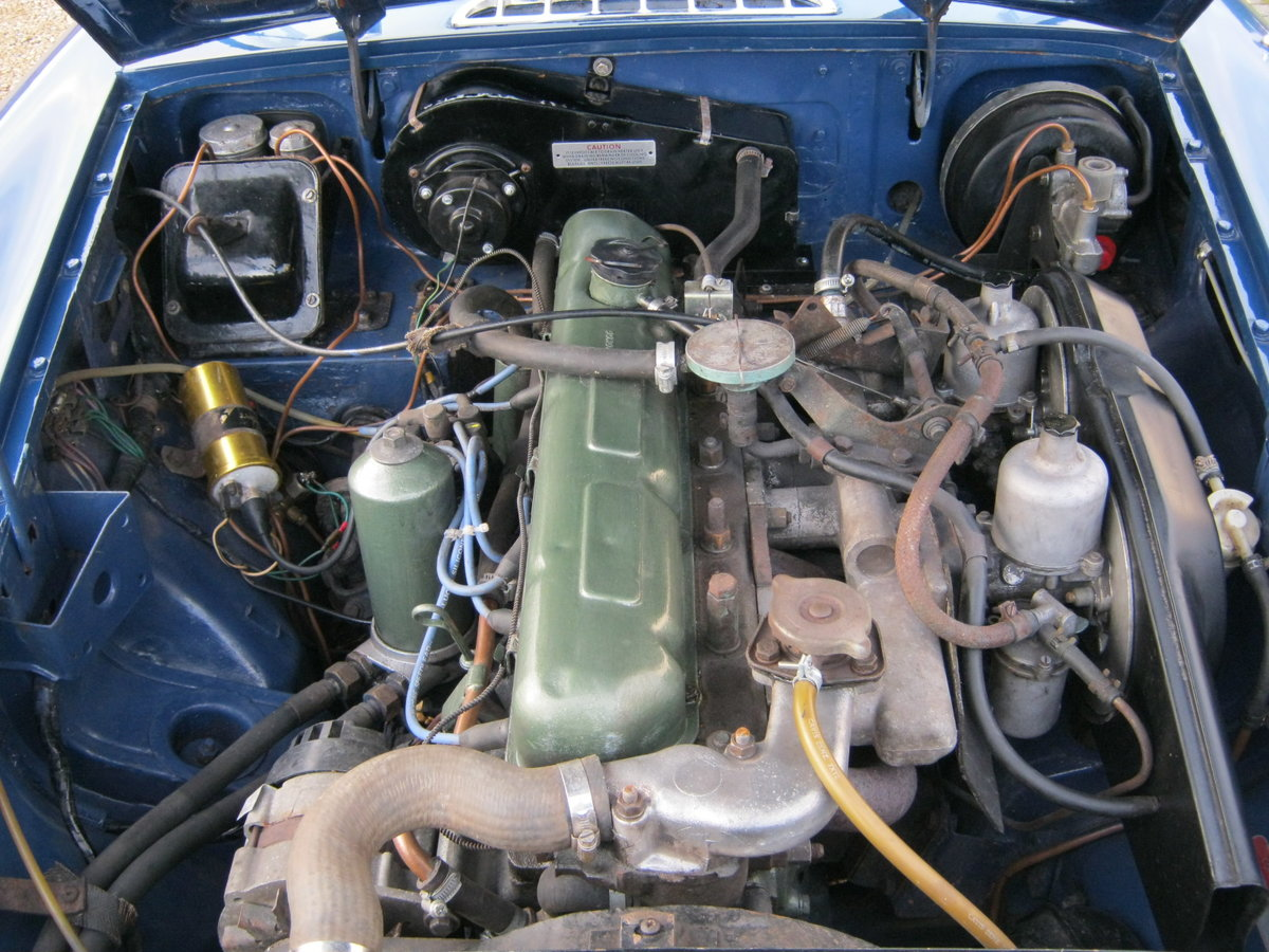 1969 MGC ROADSTER. RECENTLY RESTORED. OSELLI ENGINE MINERAL For Sale (picture 6 of 6)