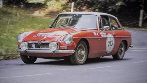 MGB GT Rally Car