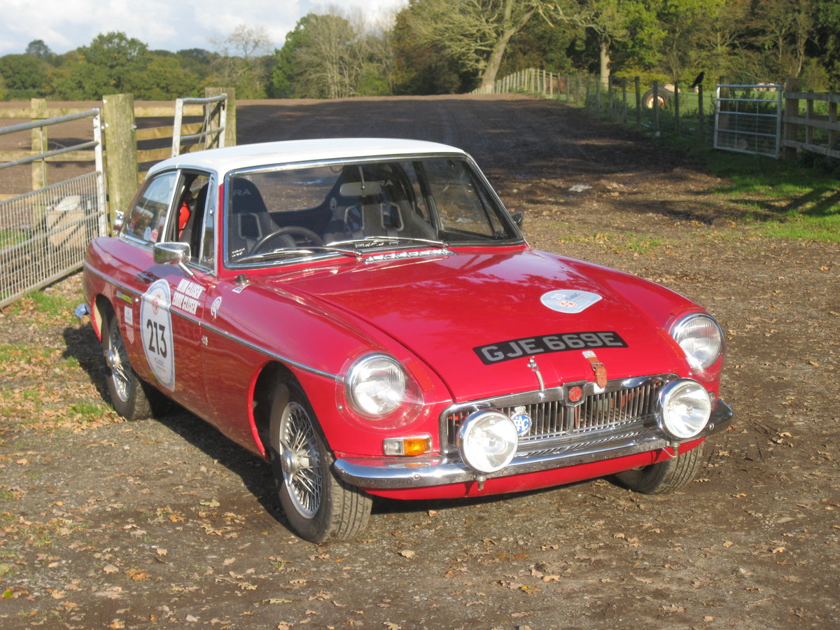 1967 MGB GT Rally Car For Sale (picture 2 of 6)