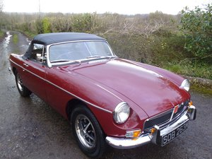1973 Mgb Roadster fully restored