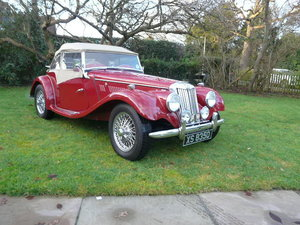 1953 MG TF ORIGINAL RIGHT HAND DRIVE, MATCHING NUMBERS