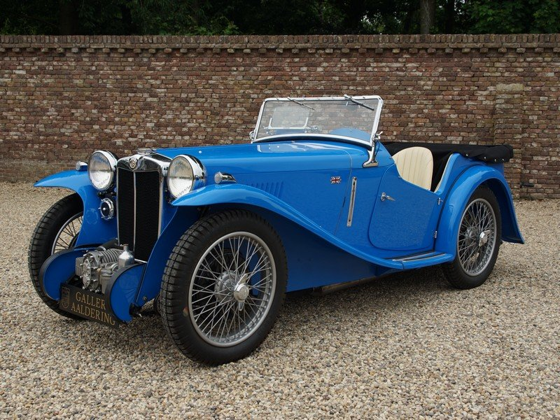 1935 MG PA Supercharger 4-Seater Bare-Metal / Body-Off restored,  For Sale (picture 1 of 6)