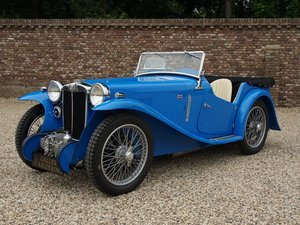 1935 MG PA Supercharger 4-Seater Bare-Metal / Body-Off restored,