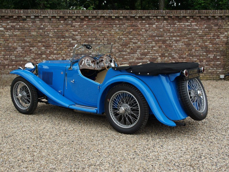 1935 MG PA Supercharger 4-Seater Bare-Metal / Body-Off restored,  For Sale (picture 2 of 6)