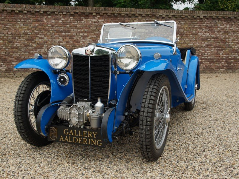 1935 MG PA Supercharger 4-Seater Bare-Metal / Body-Off restored,  For Sale (picture 6 of 6)