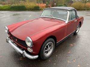 **REMAINS AVAILABLE** 1973 MG Midget For Sale by Auction