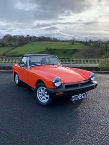 **REMAINS AVAILABLE** 1980 MG Midget 1500 For Sale by Auction