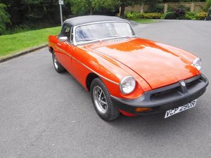 **REMAINS AVAILABLE** 1976 MG B Roadster SOLD by Auction