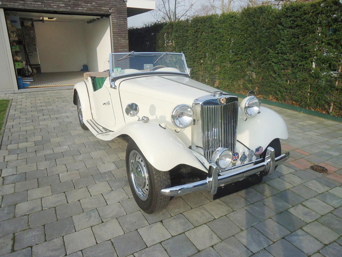 1952 MG TD 17 Jan 2020 For Sale by Auction (picture 1 of 5)