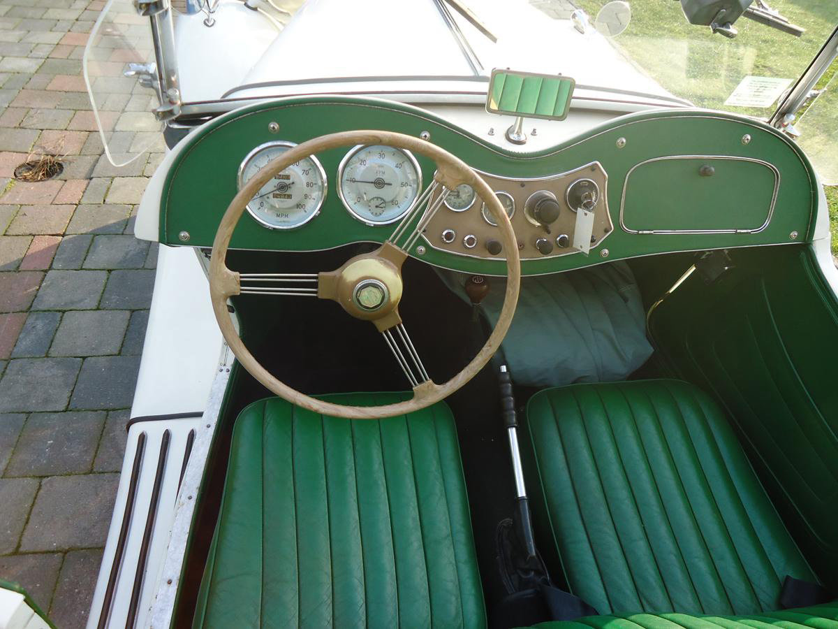 1952 MG TD 17 Jan 2020 For Sale by Auction (picture 2 of 5)