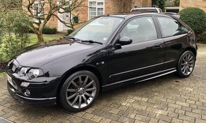 2004 MG ZR 105 + 3dr Black - NOW SOLD