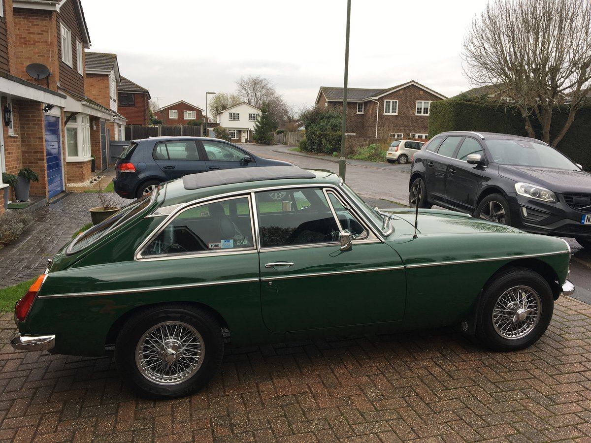 1978 MGB GT solid car & tax exempt SOLD (picture 1 of 5)