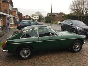 1978 MGB GT solid car & tax exempt
