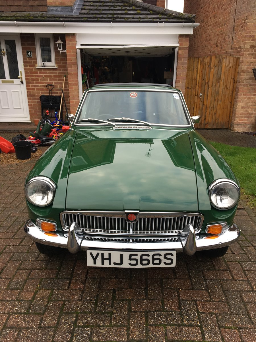 1978 MGB GT solid car & tax exempt SOLD (picture 2 of 5)