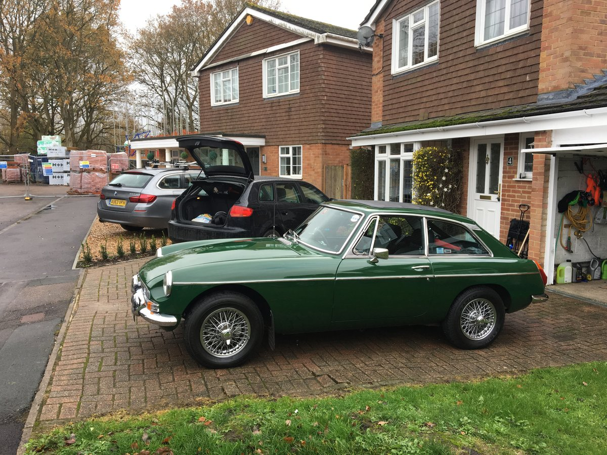1978 MGB GT solid car & tax exempt SOLD (picture 3 of 5)