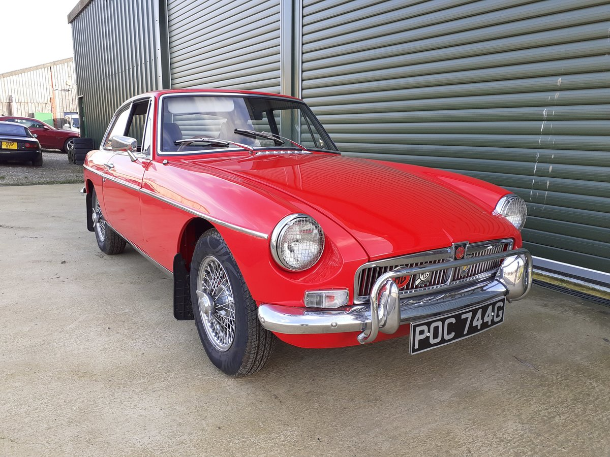 1969 MG MGB GT SOLD (picture 1 of 6)