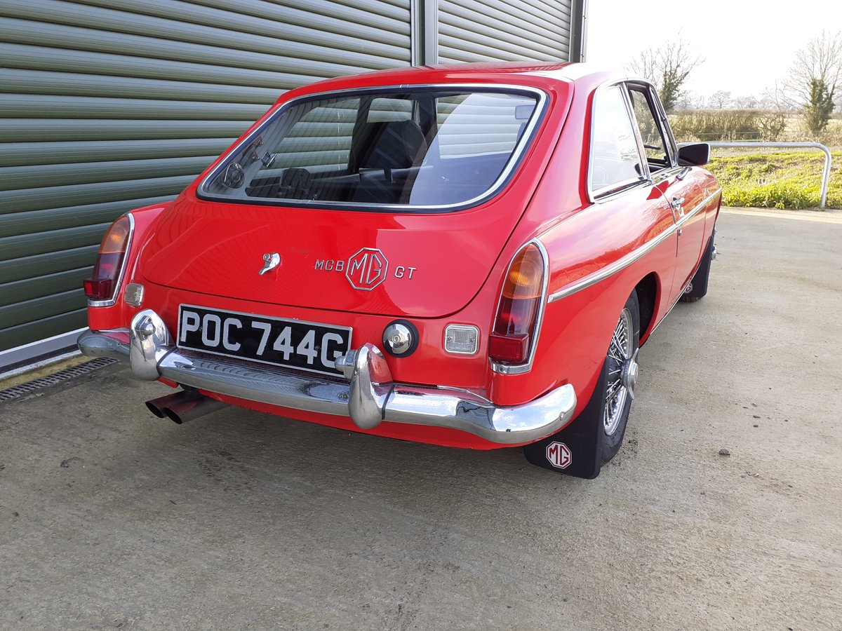 1969 MG MGB GT SOLD (picture 3 of 6)